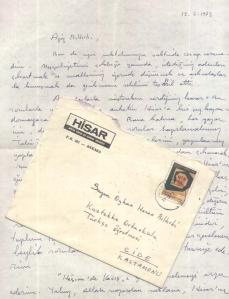 Mektup_Mehmet Çınarlı